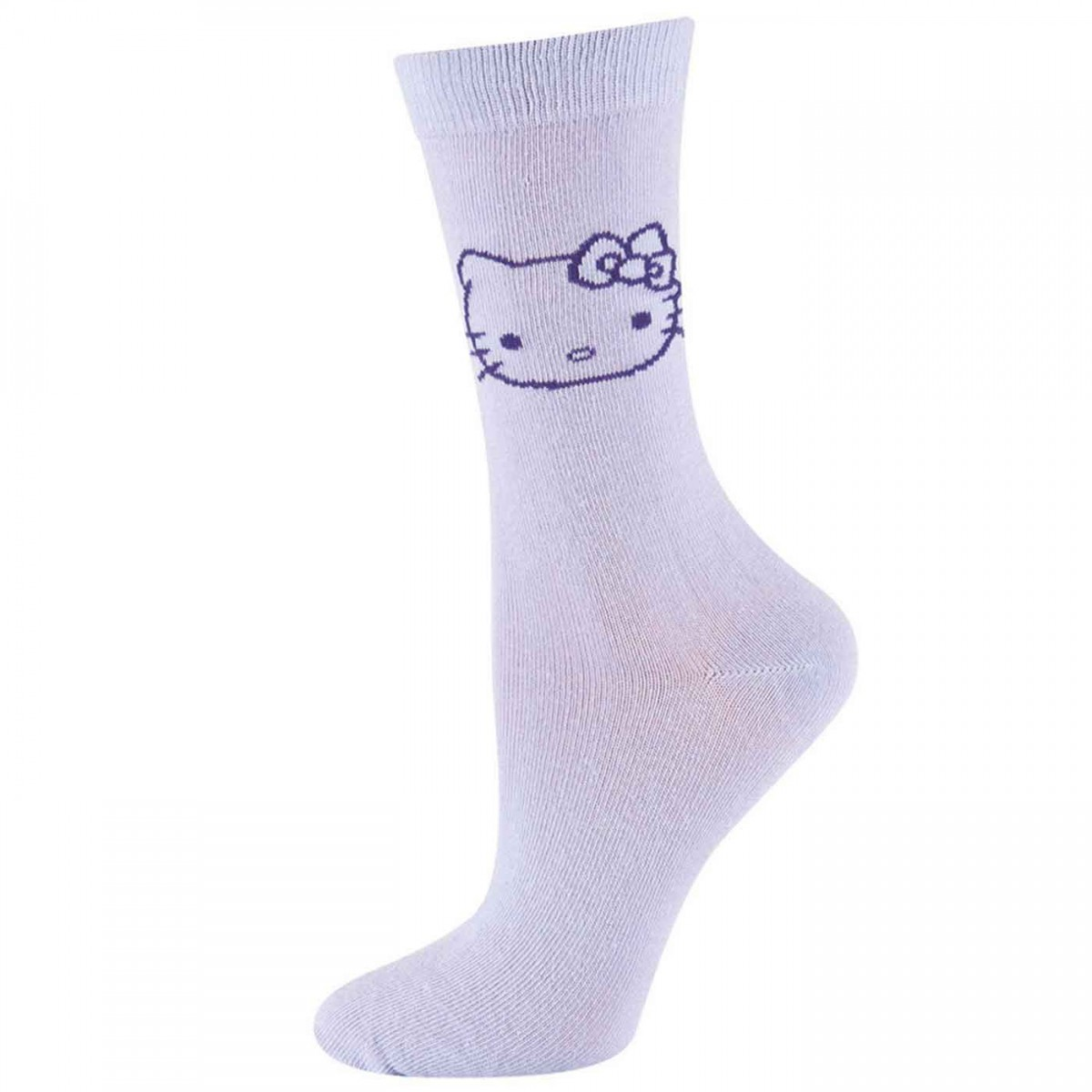 Hello Kitty Socken flieder