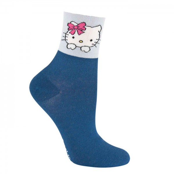 Hello Kitty Socken dunkelblau
