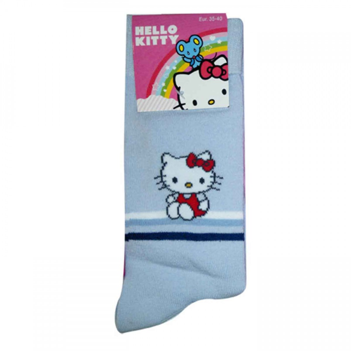 Hello Kitty Socken hellblau