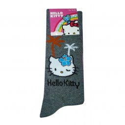 Hello Kitty Socken grau