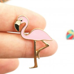 Anstecker Flamingo pink